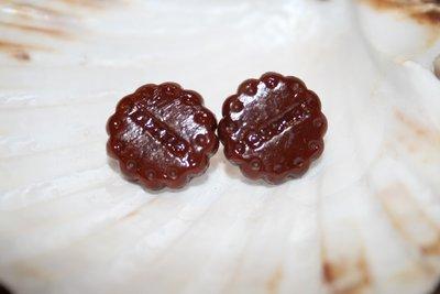 Orecchini cookie