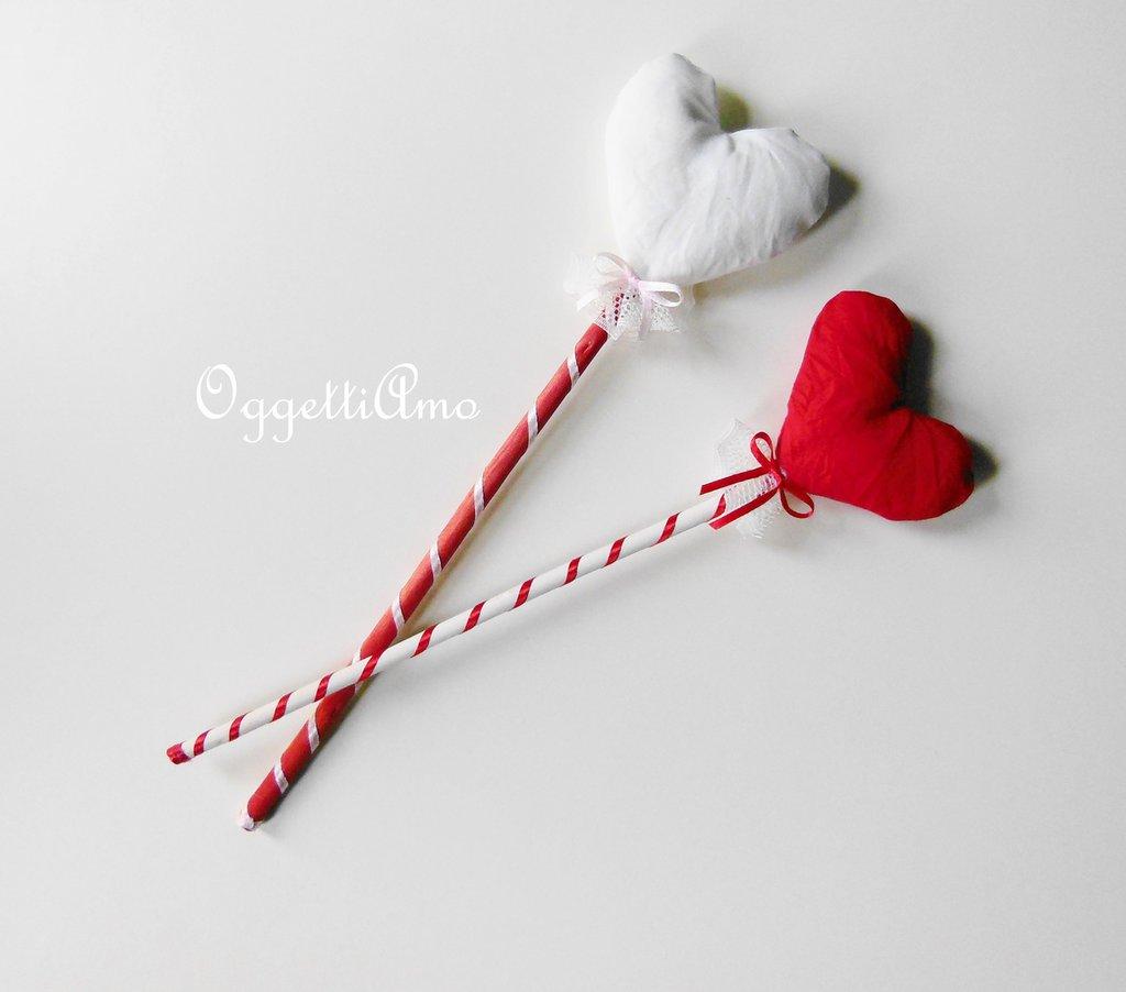 Bacchette magiche o scettri principeschi? A forma di cuore o stella ma sempre da sogno!