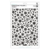 Fustella per embossing A4 - Snowflake Pattern