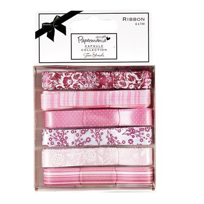 Set 6 nastri - Capsule Parkstone Pink