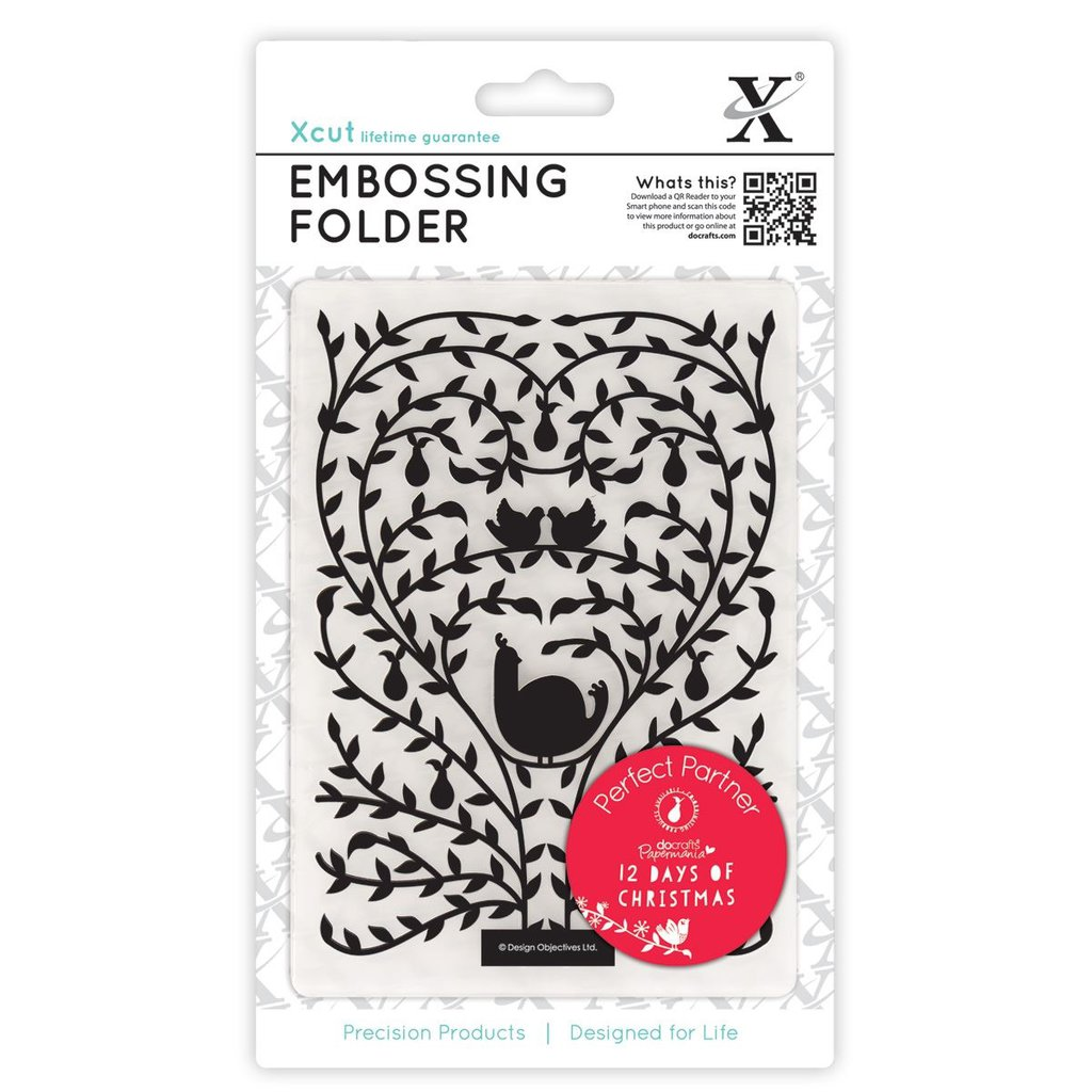 Fustella per embossing A6 - 12 Days of Christmas