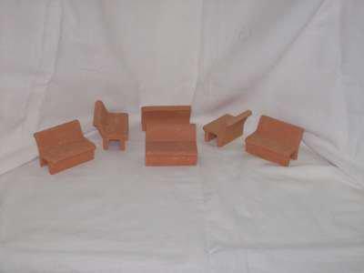 Panchine terracotta kit