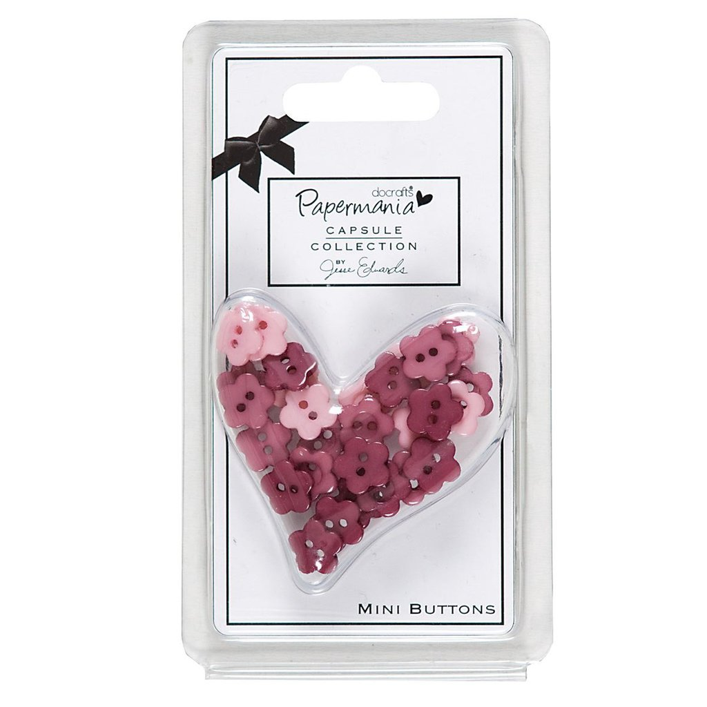Set 30 bottoni - Capsule Parkstone Pink