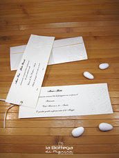 Partecipazione per Matrimonio - Avorio