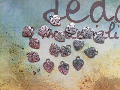 10 Charms cuore Madewithlove