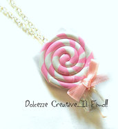 Collana Leccalecca Lollipop idea regalo pastel goth kawaii