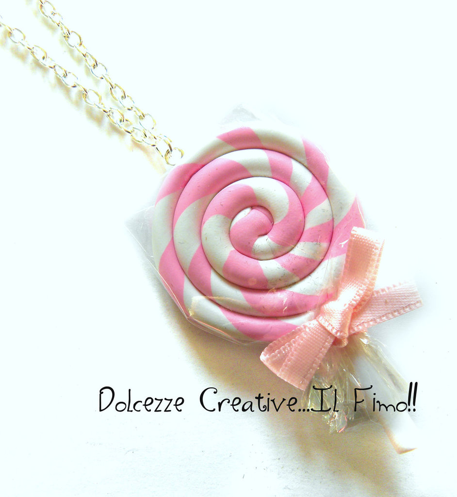 Collana Leccalecca Lollipop idea regalo pastel goth kawaii