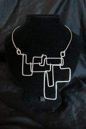"""Collana """"Eris"""" realizzata in alluminio"""