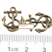 Charms ciondolo ancora bronzo 17×14 mm