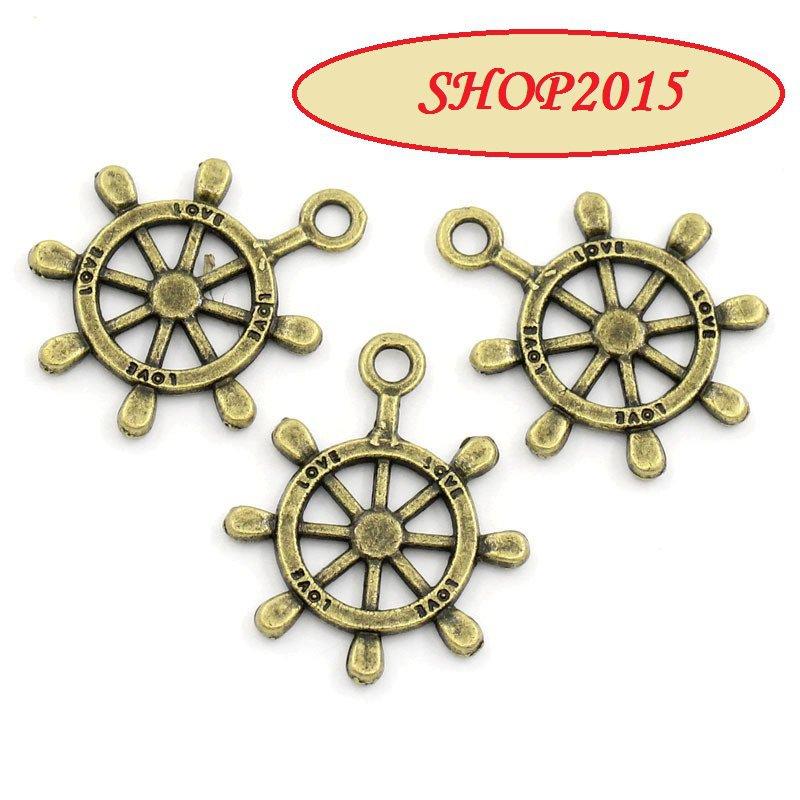 Charm Ciondolo Timone love bronzo 2,3x2 cm