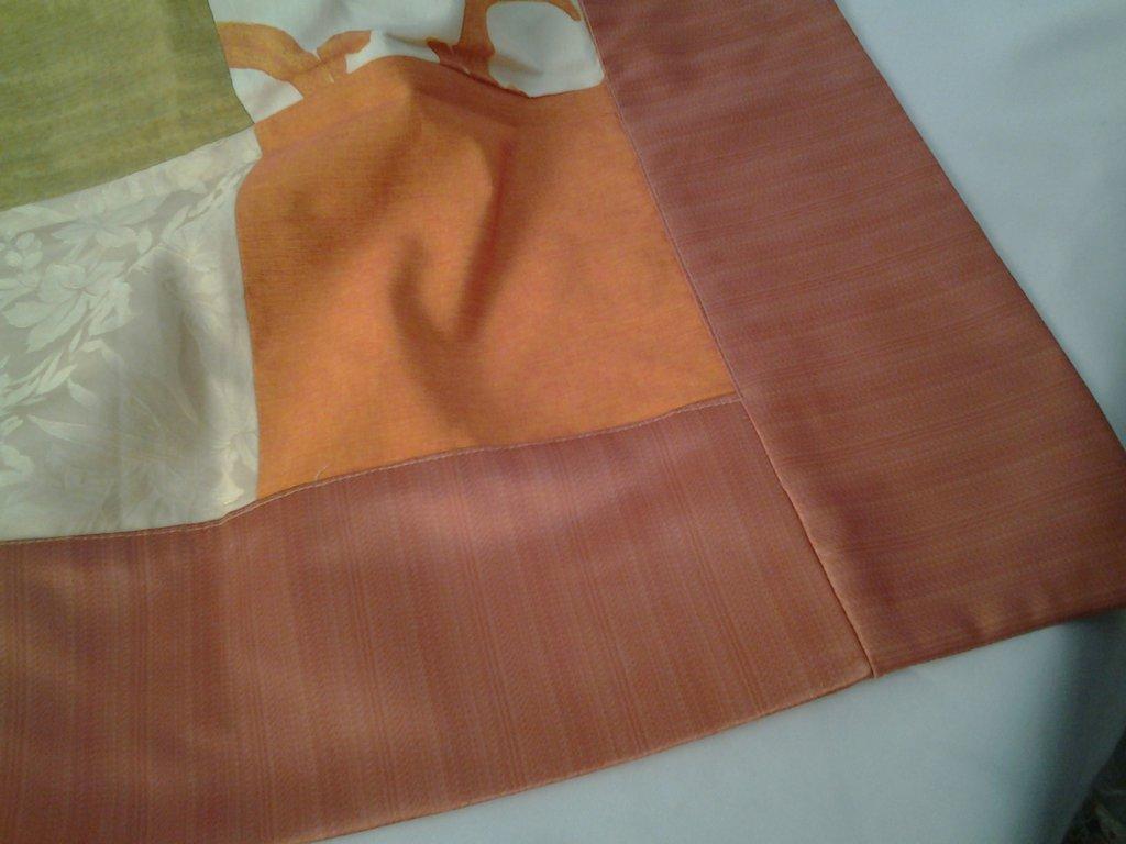 Tableau patchwork rosa antico
