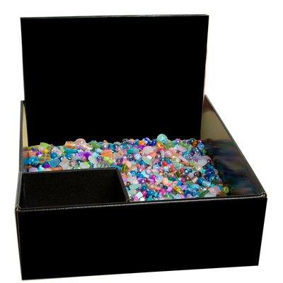 Set risparmio perline in vetro - 2,600 kg