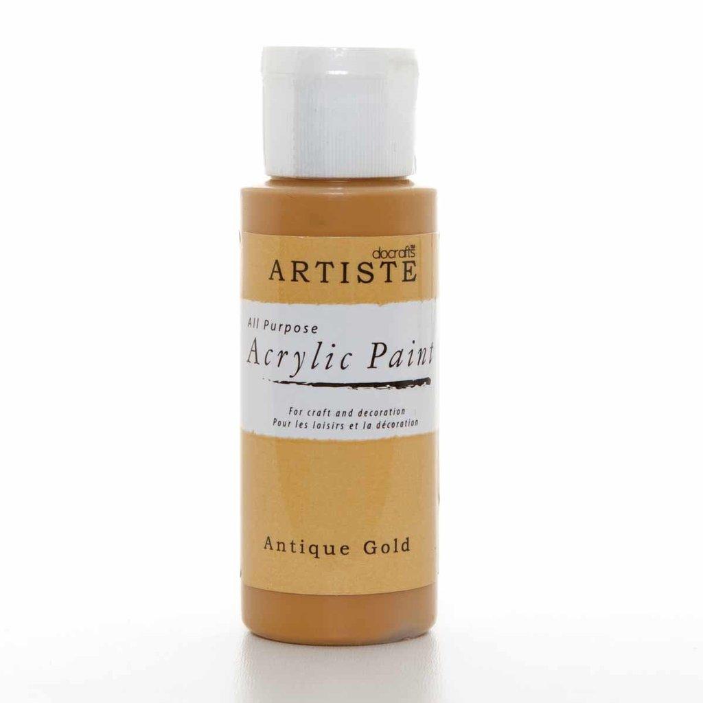 Colore acrilico - Antique Gold