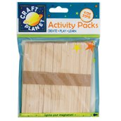 50 Lollipop Sticks - Naturale