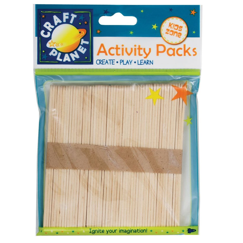 50 Lollipop Sticks - Naturale
