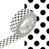 Washi Tape - Dot black