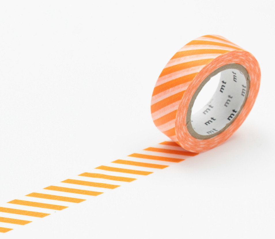 Washi Tape - Stripe orange