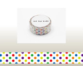 Washi Tape - Colorful Dot