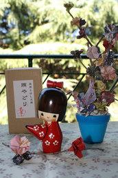 Bambola giapponese, Kokeshi Ombrellino - A490194