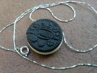 Collana con MIni Oreo in fimo