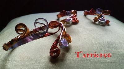 BRACCIALE ERMIONE - wire/metallo/rame/ottone
