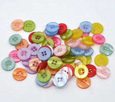 Mix 30 bottoni - 11 mm