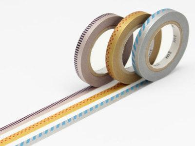 Washi Tape - Slim Deco C