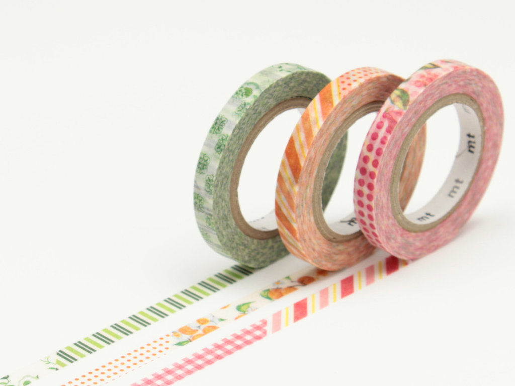 Washi Tape - Slim Deco D