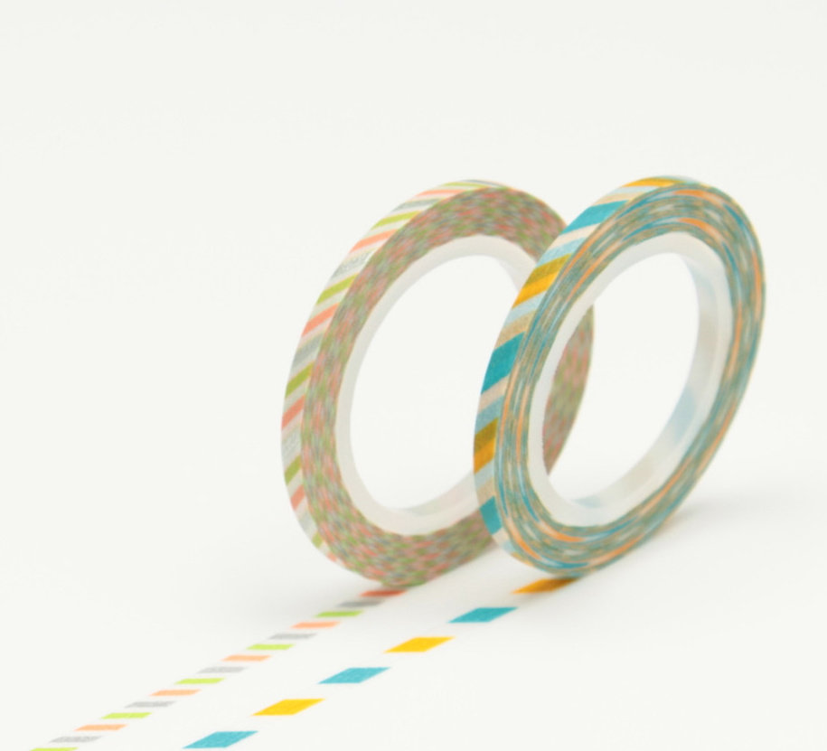 Washi Tape - Slim 3mm A