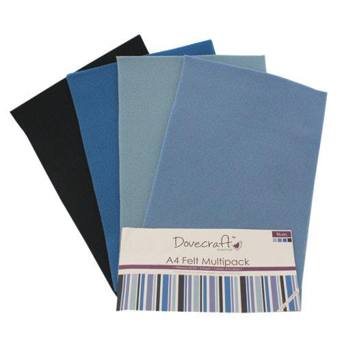 Set pannolenci A4 - Blu