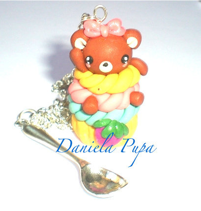 collana cupcake bear
