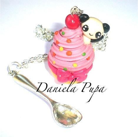 collana Cupcake panda