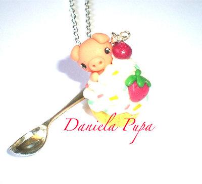 collana Cupcake Pig