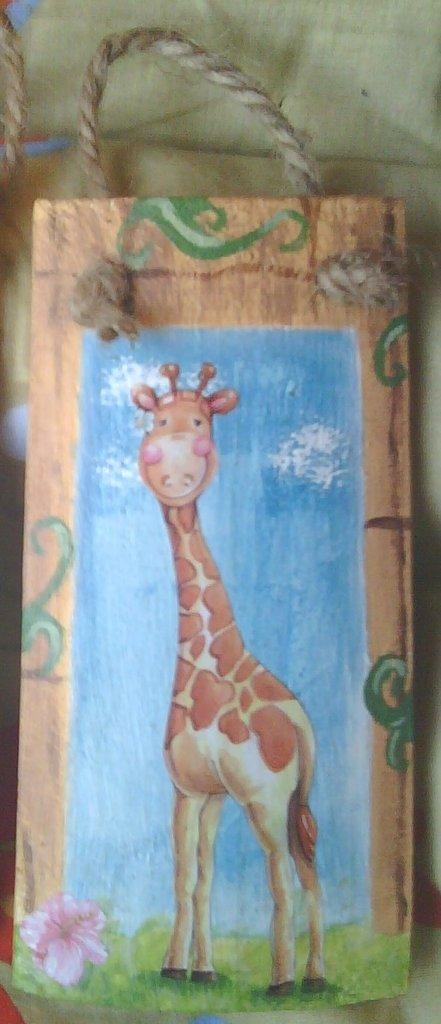 "Tegola ""Giraffa"""