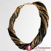 Torchon Maxi Sfarzosa - Collana in vetro di Murano