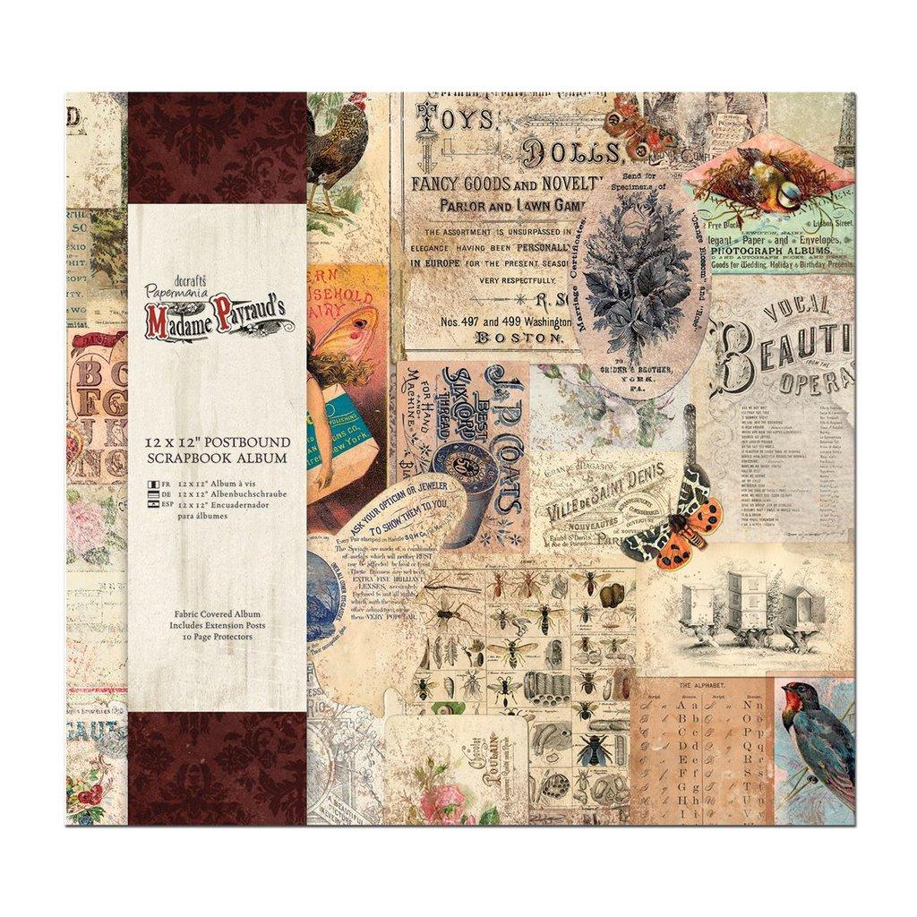 Scrapbooking album 30x30 cm - Madame Payraud