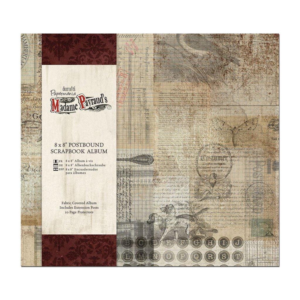 Scrapbooking album 20x20 cm - Madame Payraud