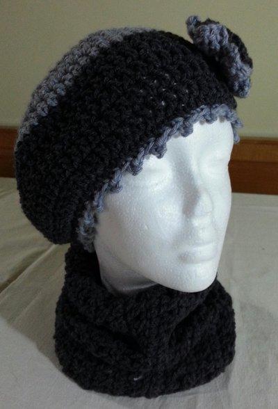 Completo Cappello e Scaldacollo Donna