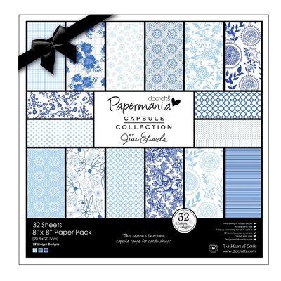 Blocco di carta 20x20 cm - Capsule Burleigh Blue
