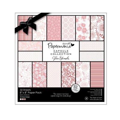 Blocco di carta 20x20 cm - Capsule Parkstone Pink