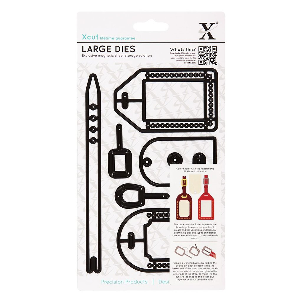 Set fustelle Xcut Large - Luggage Tags