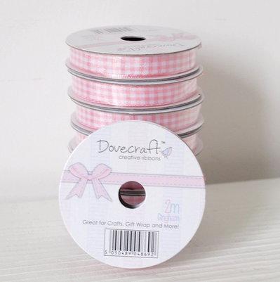 Nastro - Quadrettato rosa