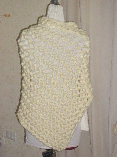 poncio mantellina in lana