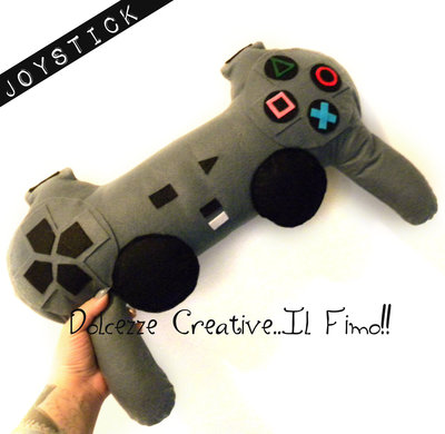 Black Friday Cuscino Miniature idea regalo Gamer Joystick playstation nerd idea regalo - HANDMADE -