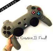 Cuscino Miniature idea regalo Gamer Joystick playstation nerd idea regalo
