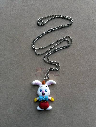 Collana con baby Roger Rabbit fimo