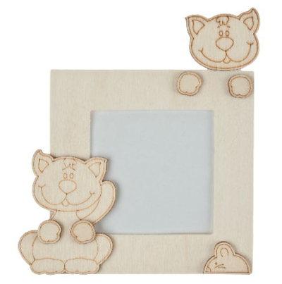 Offerta kit 5 pezzi miix cornici in legno da decorare leggi mat su misshobby - Oggetti in legno da decorare ...