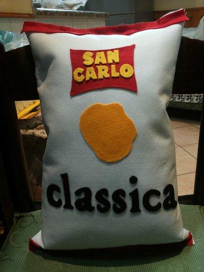 Cuscino Goloso Patatina Classica!