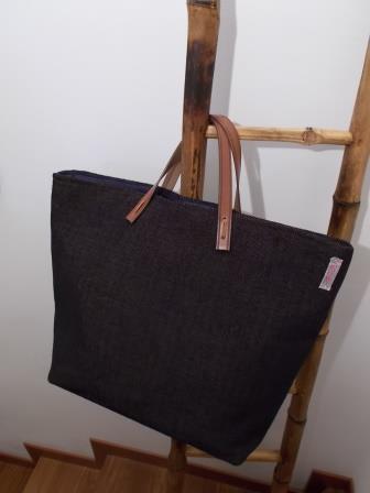 Borsa Tote Bag Blu