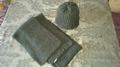 sciarpa e capello di lana
